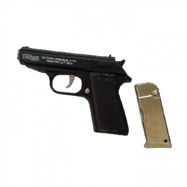 Bricheta tip pistol Walther cu briceag