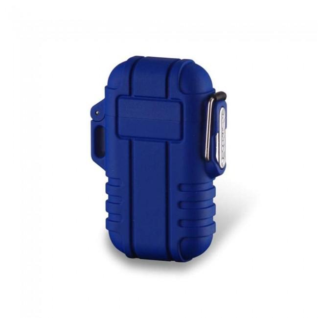 Bricheta albastra cu incarcare usb rezistenta la apa se-001b
